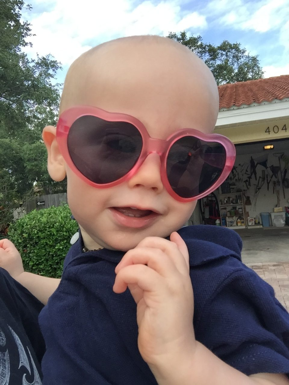 Jack and his (Ellie's) love glasses