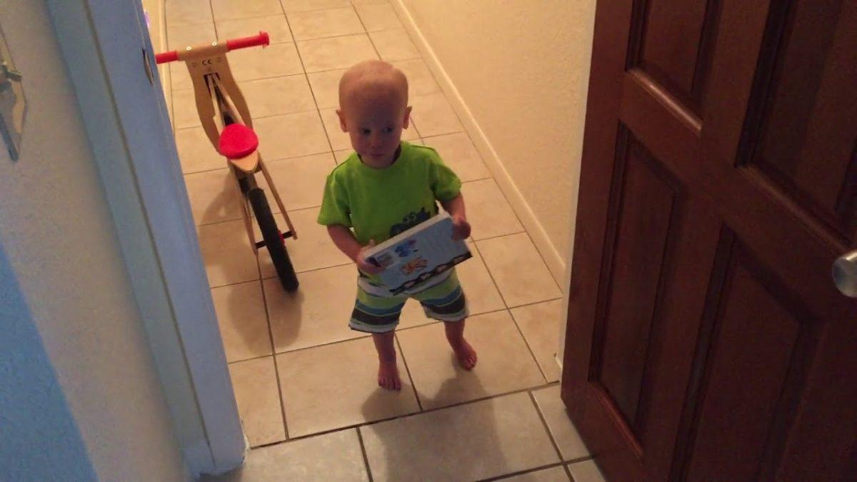 Jack walking to see Ellie [VIDEO]